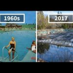1960s Postcards in Real Life Then vs. Now
