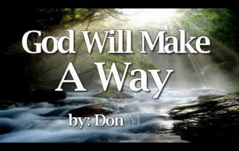 God Will Make A Way – Don Moen