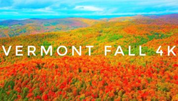 Hills on Fire 4K – Vermont Fall