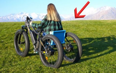Homemade Off Road Electric Wheelchair