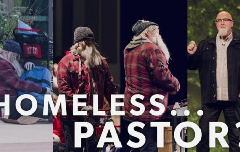 A Pastor Dresses Up as a Homeless Man