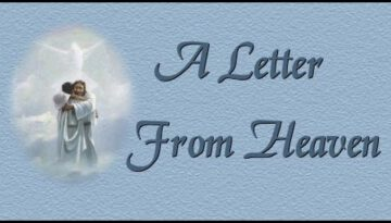 Letter From Heaven – Stephen Meara-Blount