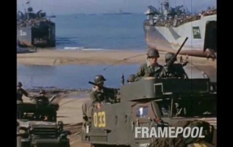Rare Color Footage of D-Day, Narrated by Cameraman Who Was There