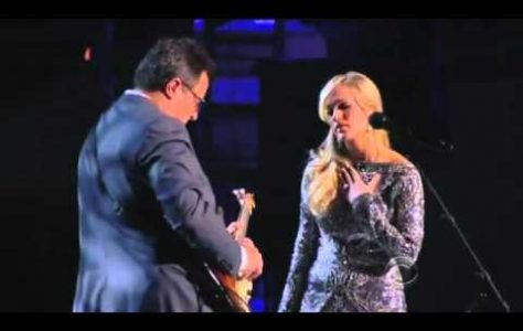 How Great Thou Art as performed by Carrie Underwood Vince Gill