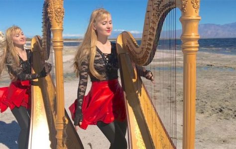 Closer to the Heart (RUSH) Harp Twins