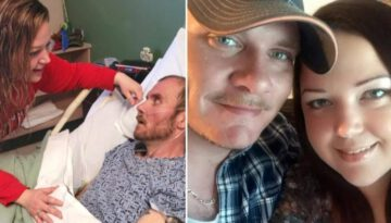 Wife Sings 'Amazing Grace' to Dying Husband