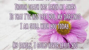A Mother's Message From Heaven
