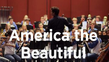 America the Beautiful – National Youth Orchestra