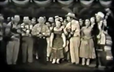 Rare Hank Williams, Carter Family, Acuff Video – 1952 – Glory Bound Train