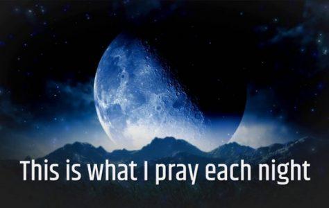 My Nightly Prayer
