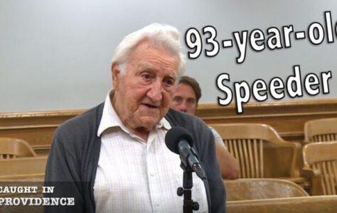 93-year-old Speeder