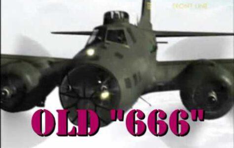 """""""Old 666"""" – B-17 Bomber"""