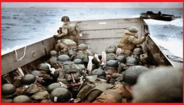 Never Before Seen Color Photos from D-Day Landings in Normandy