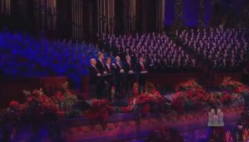 O Holy Night – The King's Singers & The Mormon Tabernacle Choir