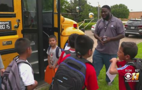 Dallas School Bus Driver Inspiring Students One Ride At A Time
