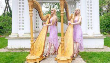 In the Garden – Harp Twins