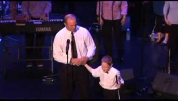 10-Year-Old Blind Autistic Boy Sings Open the Eyes of my Heart