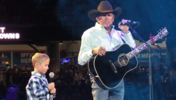 """""""God and Country Music"""" George Strait with Special Guest, grandson Harvey Strait"""