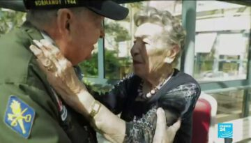 75 Years Later, D-Day Veteran Meets Long-Lost French Love