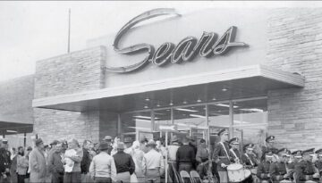 Shopping at Sears in the 1950s