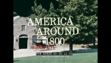 Had You Lived Then – America Around 1800